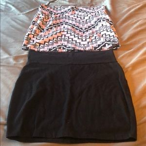 Two Charlotte Russe skirts